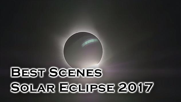 Wonderful Solar Eclipse 2017 poster