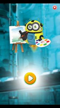 The Minions Coloring poster