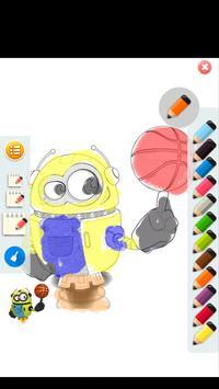 The Minions Coloring apk screenshot