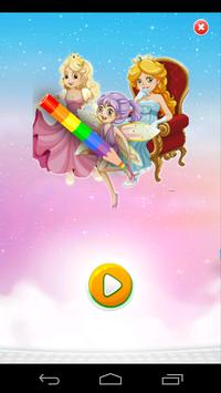 Princess Coloring poster