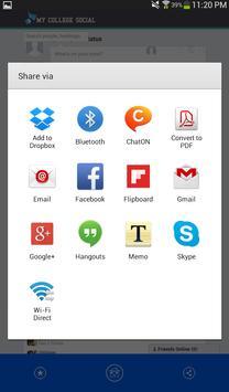 My College Social apk screenshot