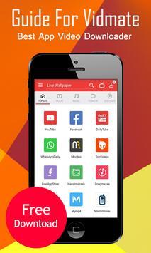 App Vidmate Video Download Ref screenshot 2