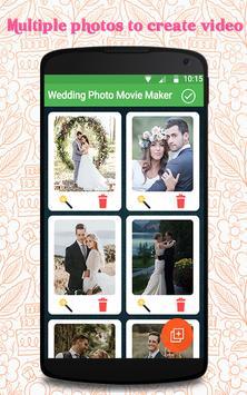 Wedding Photo Movie Maker screenshot 6