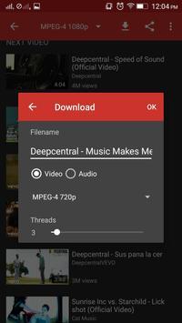 VidTube Free screenshot 1