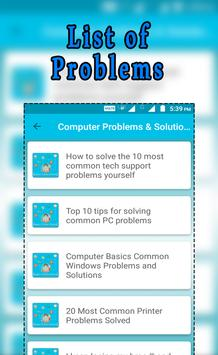 Computer Problems & Solution screenshot 1