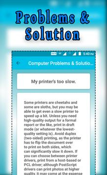 Computer Problems & Solution screenshot 2