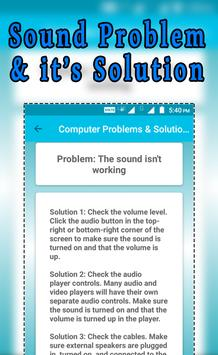 Computer Problems & Solution screenshot 4