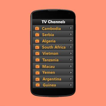 TV Channels Bangladesh apk screenshot