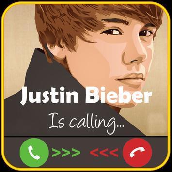 Justin Bieber is calling Prank screenshot 1