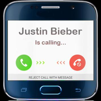 Justin Bieber is calling Prank screenshot 2