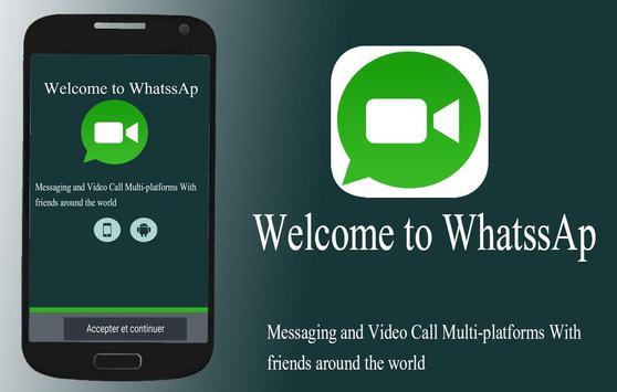 Video Calls For WhatssAp poster