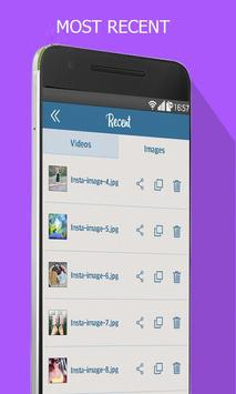 Insta download -  photo & video apk screenshot