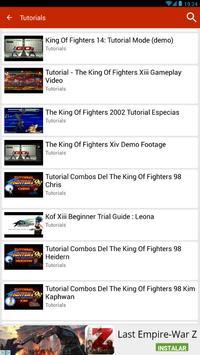 Guide for K.O.F 96, 97,98... screenshot 14