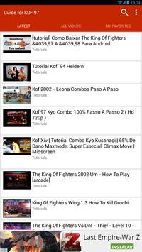 Guide for K.O.F 96, 97,98... screenshot 16