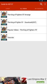 Guide for K.O.F 96, 97,98... screenshot 10