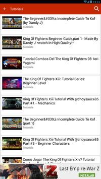 Guide for K.O.F 96, 97,98... screenshot 4