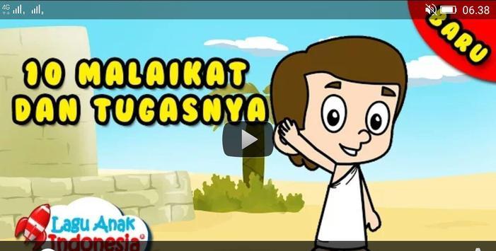 Video Lagu Anak Muslim apk screenshot