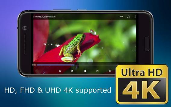 Video Player Ultra HD 4K poster