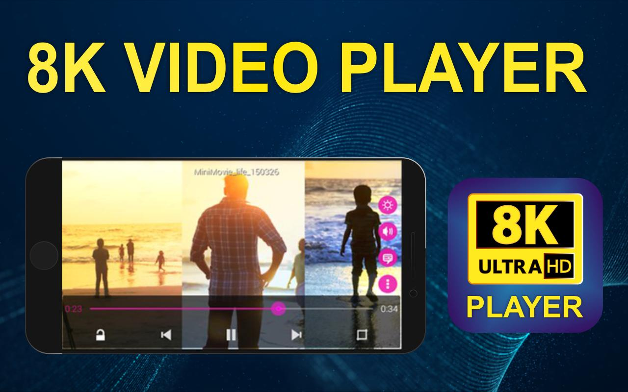 8k video player ultra hd pro for android - apk download