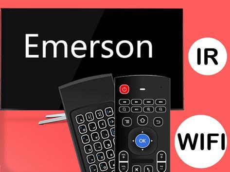 Remote control for emerson tv poster