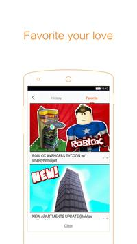 Tips for ROBLOX 2K17 apk screenshot