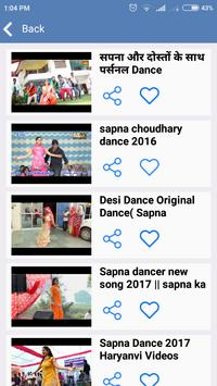 Sapna choudhary dance video 2017 & haryanvi dance apk screenshot