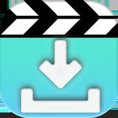 video downloader HD prank icon