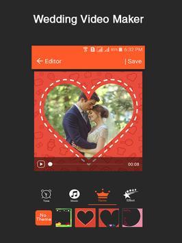 Wedding Video Maker apk screenshot