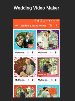 Wedding Video Maker poster