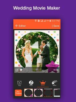Wedding Movie Maker apk screenshot