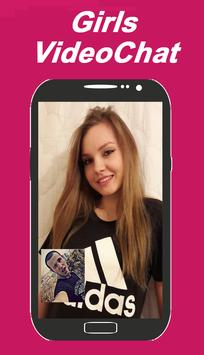 Girl live video chat apk screenshot