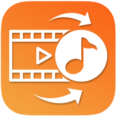 Video to music converter-Video to mp3 icon