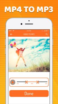 Video to music converter-Video to mp3 screenshot 2