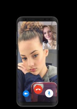 Video call Sofie Dossi– Joke call Gymnastic girl poster