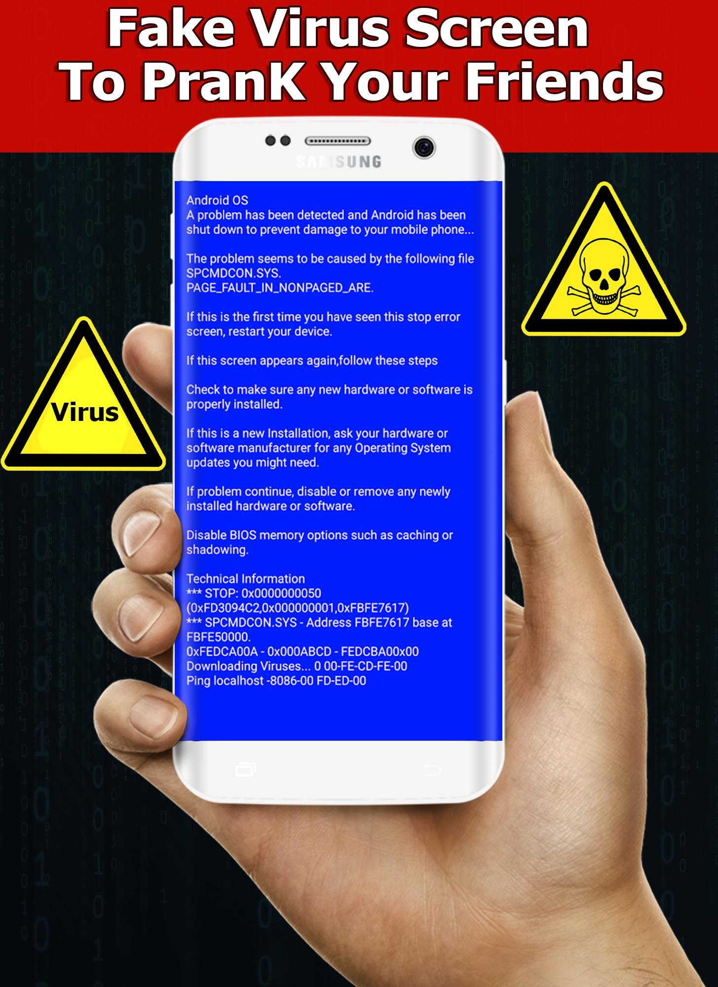 Fake Virus Screen Prank for Android - APK Download