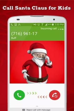 Call Santa Claus for Kids - Countdown to Christmas poster