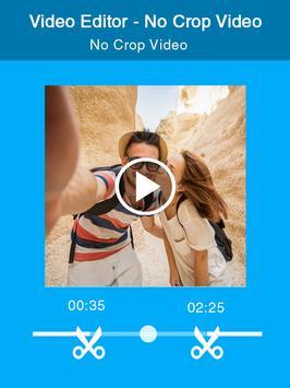 Video Editor - No Crop Video apk screenshot