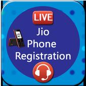 Free Jiio Phone Registration icon