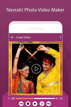 Navratri Photo Video : Movie Maker with Music 2017 apk screenshot