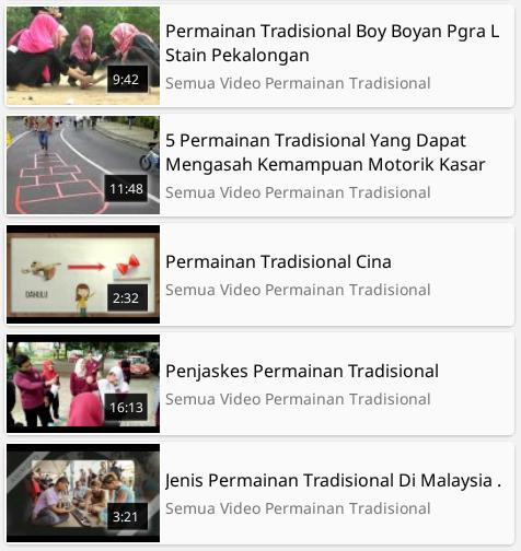 Video Permainan Tradisional For Android Apk Download