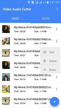 video audio cutter apk screenshot