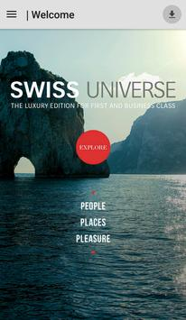 SWISS Universe Luxury App poster