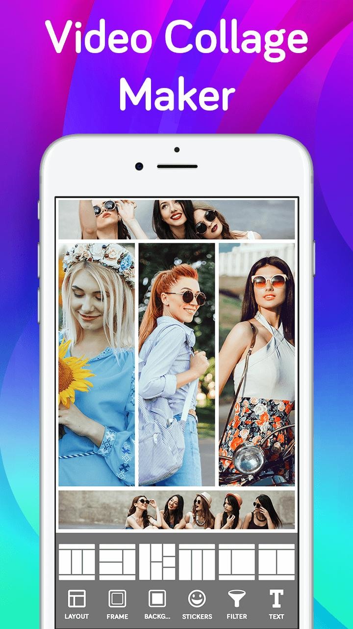 Video Collage App Grid Maker Live Collage Apps For Android Apk Download