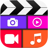 Video collage maker with music-Video collage icon