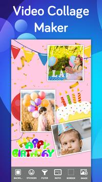 Video collage maker with music-Video collage screenshot 1