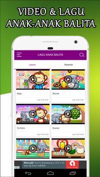 Video Lagu Anak Anak Balita screenshot 1