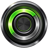 Music player Equalizer booster icon