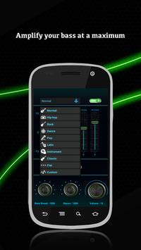 Music player Equalizer booster poster