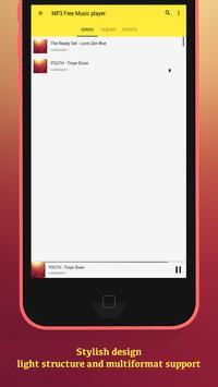 MP3 Free Music player screenshot 1