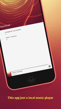 MP3 Free Music player screenshot 2